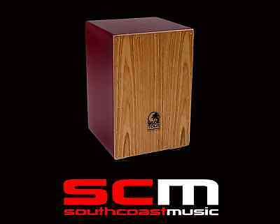 TOCTCCJRD Toca Cajon Red ColourSound