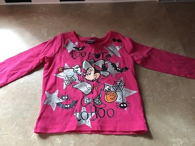 Disney Minnie Mouse Halloween Top 9-12months