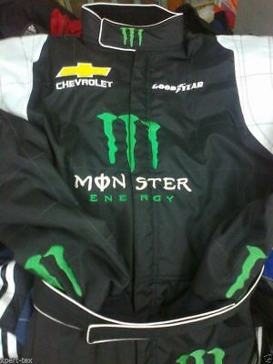 Monster Kart Go Kart Race Suit CIK FIA Level 2 with free gift Gloves & balaclava