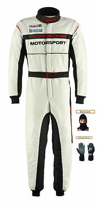 Porsche Kart Go Kart Race Suit CIK FIA Level 2 with free gift Gloves & balaclava