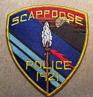 OR Scappoose Oregon Police Patch