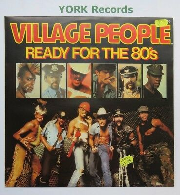 "VILLAGE PEOPLE - Ready For The 80's - Excellent Con 12"" Single Mercury 9198 505"