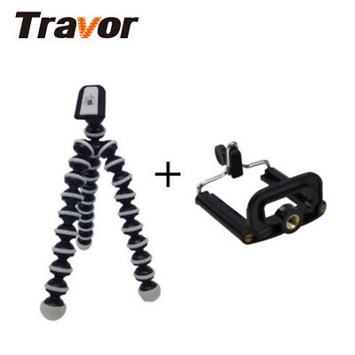 For Camera Phone Portable Mini Flexible Tripod Octopus Stand Holder