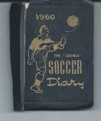 The Legible Soccer Diary ~ 1960