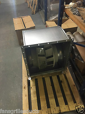 Double Inlet Centrifugal Blower 400v 3 phase inc controller 4500m3 powerful