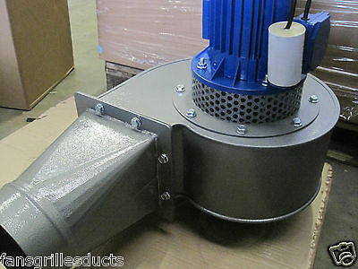 High Temperature Industrial Blower 2500m3/hr 1.1KW 230v 250 degC Centifugal