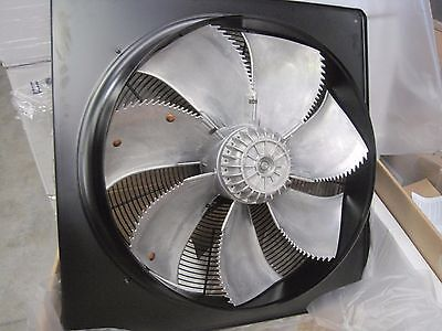 Large Industrial Plate Axial Fans 560 dia 11500m3/hr 400v 3ph Spraybooth Biomass