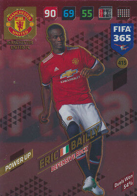 Fifa 365 Cards 2018 - 415 - Eric Bailly - Power UP - Defensive Rocks