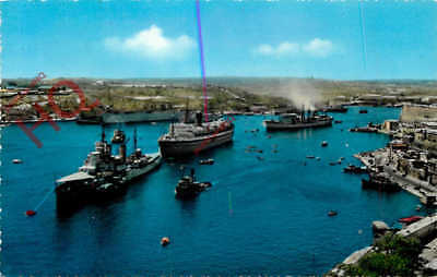 Picture Postcard- Malta, Grand Harbour