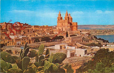 Picture Postcard- Malta, Mellieha Church