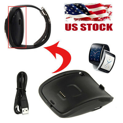 Charging Dock Charger Cradle For Samsung Galaxy Gear S Smart Watch SM-R750 USA