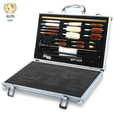 hunting rifle , shot gun Universal 74PCS Clean Kit Set High Quality With Case