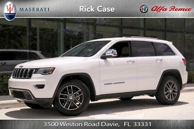 2017 Jeep Grand Cherokee Limited 2017 Limited 3.6L V6 24V Automatic RWD