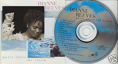 DIANNE REEVES Quiet After The Storm (CD 1995) 12 Songs Pop Vocal
