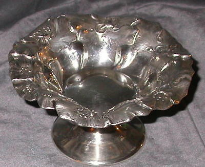 ANTIQUE Sterling silver candy bowl /compote