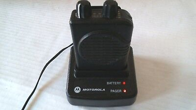 Motorola Minitor V Fire EMS Pager w Charger