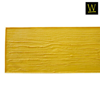 Centennial Plank Wood   Single Concrete Stamp by Walttools (Yellow, 8 ft.)