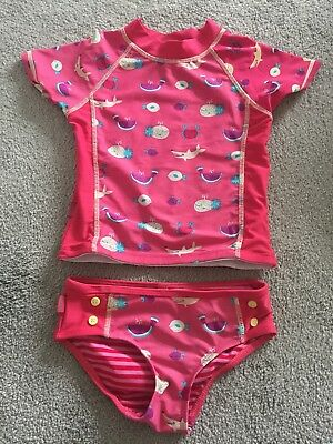 Fat Face girls swimsuit tankini age 4-5 years