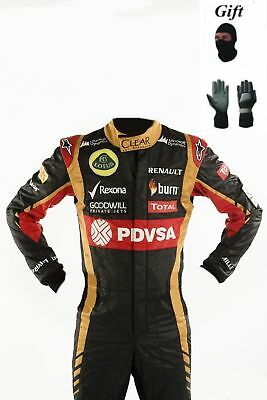 Lotus 2014Go Kart Race Suit CIK FIA Level 2 with free Gloves and balaclava