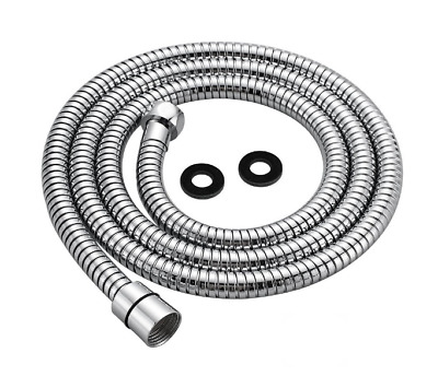 Replacement Shower Hose 1.5m (59-Inch) Stainless Steel, Polished Chrome