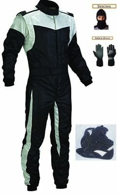 New Go Kart Race Suit & Shoes with Free gloves & balaclava