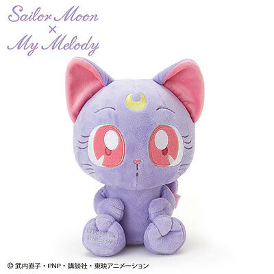 Sailor Moon  My Melody Luna Plush Doll From Japan
