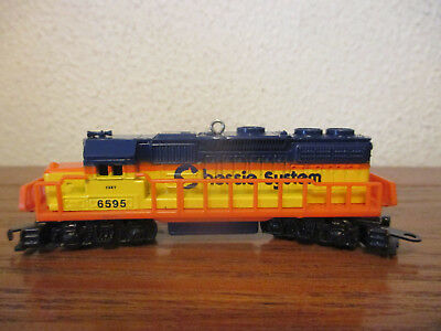 Hallmark Ornament 2015 Lionel Chessie System Locomotive Train