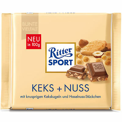 Ritter Sport Biscuit + Nuts