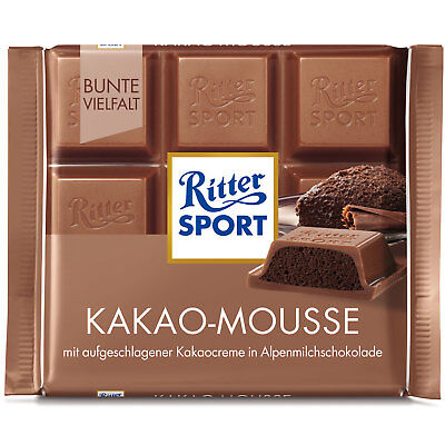 Ritter Sport Cocao Mouse 500g (Pack of 5)