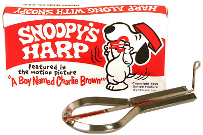 Trophy 3490 Snoopy Jaw Harp