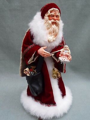 Simpich Character Dolls Victorian Gift Giver Santa Limited Edition