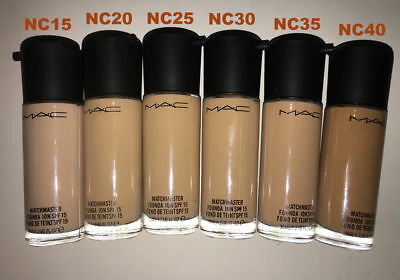M.A.C Matchmaster Foundation Fluid SPF15 ALL SHADES 35ml & Free postage