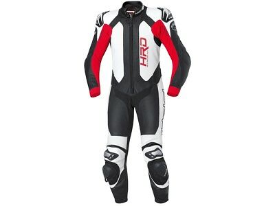Leather Suit Held SLADE 1 Pc Colour: Black/Red/White Size: 56 Kangaroo Estate