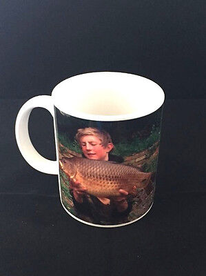 Personalised Photo Fishing Mug For Your Best,Catch Ideal Christmas Present