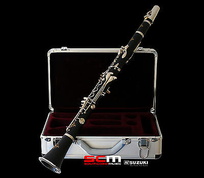 NEW SUZUKI MASTERCLASS Bb CLARINET OUTFIT Authorised Suzuki Dealer FREE SHIPPING