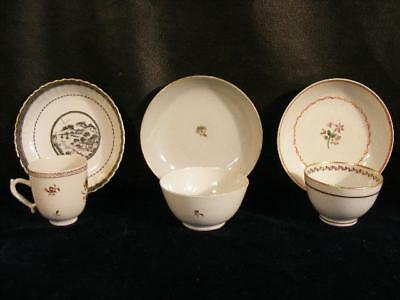 Lot 6 Pieces Ca. 1800 Chinese Export Cups & Saucers - Qianlong