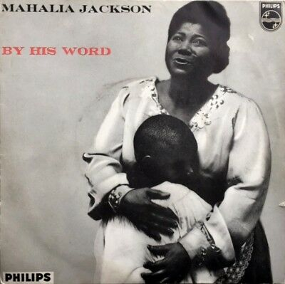 MAHALIA JACKSON  By His Word  1959 UK PHILIPS 4 Track EP PIC SLEEVE Gospel Soul