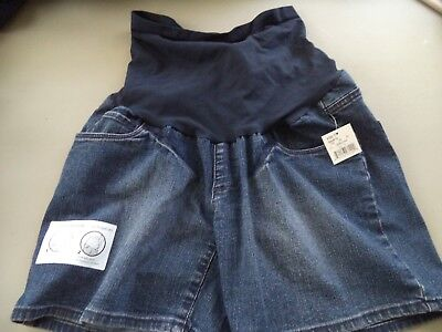 OH BABY by Motherhood Denim Maternity Shorts Size Small NWT