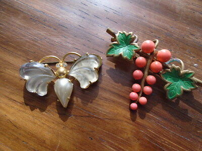 2 petites broches anciennes