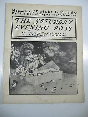 The Saturday Evening Post Magazine- April 7, 1900- Illustrated
