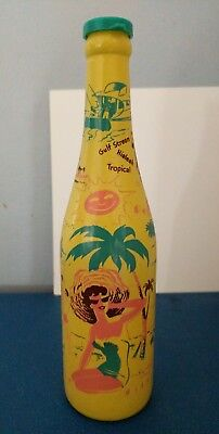 (VTG) ABCB 1955 Convention Miami Painted Bottle Miami Beach Everglades Tropical