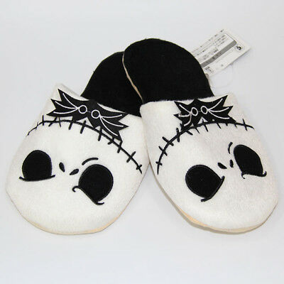 New The Nightmare Before Christmas Jack Skellington Soft Plush Slippers Costume