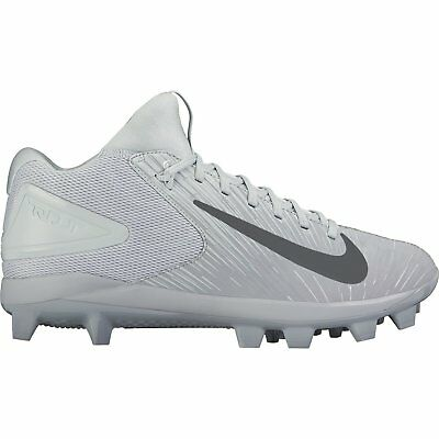 Brand New Nike Youth Trout 3 Pro Cleats Grey/Platinum 856499001