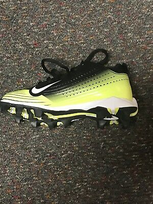 Brand New Nike Youth Vapor Keystone 2 Low Cleats Black/Voltage 684692017