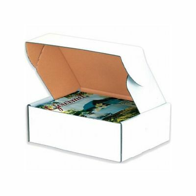 Box Packaging White Deluxe Literature Mailer, 25/bundle