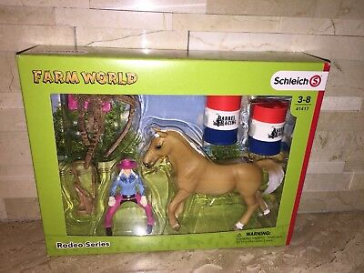 Schleich Farm World Rodeo Series Barrel Racing Figure 41417