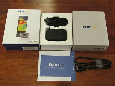 Flir One Thermal Imaging Camera for iPhone iOS All Complete MINT