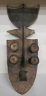 Grebo African Mask African Expedition In 1985 From A World Collector Rare Find