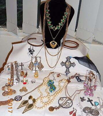 Vintage-Now Jewellery Lot All-To-Wear Coro, 925 Silver, Marvella Pearls & More