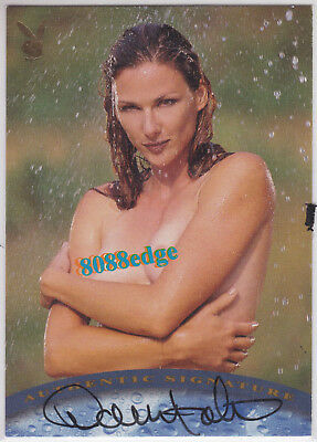 2001 Wet & Wild Authentic Auto Gold: Danelle Folta - Autograph Centerfold Model